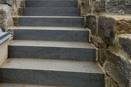 Granitblockstufen